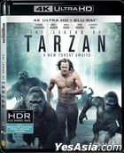 The Legend of Tarzan (2016) (Blu-ray) (4K Ultra HD) (Hong Kong Version)