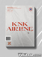 KNK Mini Album Vol. 3 - KNK AIRLINE (OFF Version) + Poster in Tube (OFF Version)