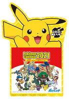 Pocket Monsters 2021 Desktop Calendar (Japan Version)