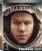 The Martian (2015) (Blu-ray) (2D + 3D) (Hong Kong Version)