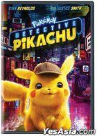 POKÉMON Detective Pikachu (2019) (DVD) (US Version)