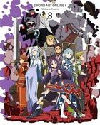 Sword Art Online II Vol.8 (DVD) (Normal Edition)(Japan Version)