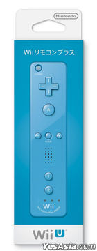 Wii Remote Con Plus (Blue) (Japan Version)
