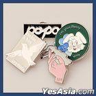 Yerin Baek 'Turn on that Blue Vinyl' Concert Official Goods - Pin Badge Set