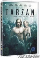 The Legend of Tarzan (DVD) (Korea Version)