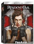 Resident Evil 6 Movies Collection (4K Ultra HD Blu-ray) (Hong Kong Version)