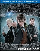 Fantastic Beasts: The Crimes of Grindelwald (2018) (Blu-ray + DVD + Digital + Extended Cut) (US Version)