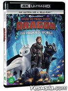 How To Train Your Dragon: The Hidden World (4K Ultra HD + Blu-ray) (2-Disc) (Korea Version)