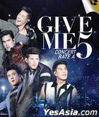 Give Me 5 Concert Rate A (2DVD) (Thailand Version)