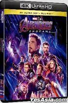 Avengers: Endgame (2019) (4K Ultra HD + Blu-ray) (Hong Kong Version)