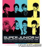 Super Junior M 2nd Mini Album - 太完美 (CD+DVD) (改版) (韓國版)
