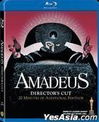 Amadeus (1984) (Blu-ray) (Director's Cut) (Hong Kong Version)