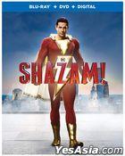 Shazam! (2019) (Blu-ray + DVD + Digital) (US Version)