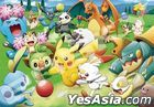Pokemon : Let's Play with the Ball! Pass, Pass, Kick! (Jigsaw Puzzle 1000 Pieces) (1000T-149)