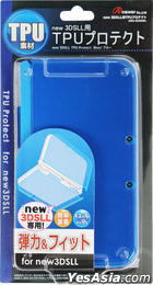 New 3DS LL TPU Protect (蓝色) (日本版)