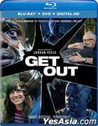Get Out (2017) (Blu-ray + DVD + Digital HD) (US Version)