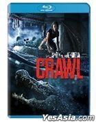 Crawl (2019) (Blu-ray) (Hong Kong Version)