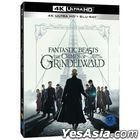 Fantastic Beasts: The Crimes of Grindelwald (4K Ultra HD + 2D Blu-ray) (O-Ring + Card First Press Limited Edition) (Korea Version)