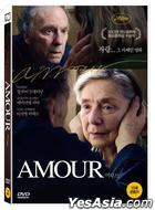 Amour (DVD) (Korea Version)