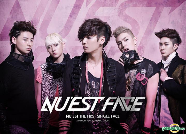 YESASIA: NU'EST Single Album Vol. 1 - Face CD - NU'EST, Kakao M (Loen Entertainment) - Korean Music - Free Shipping - North America Site
