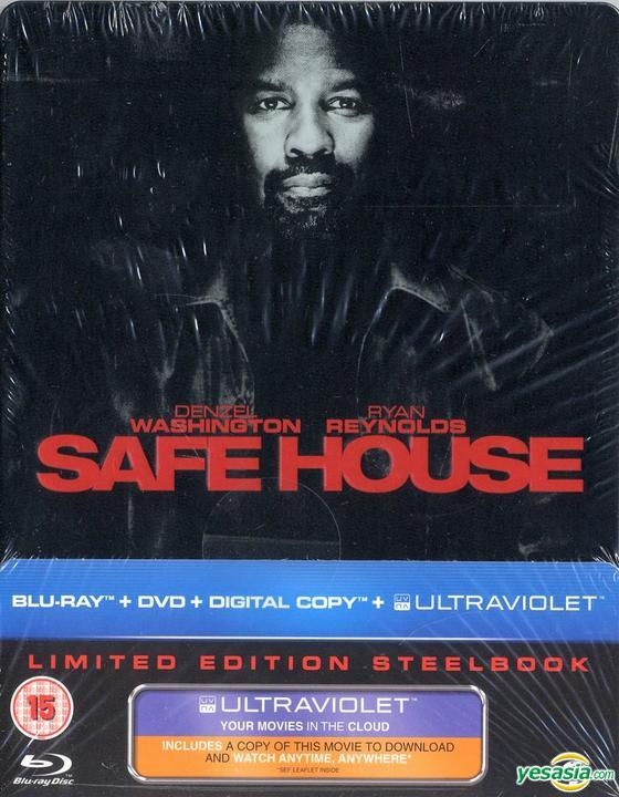 Yesasia Safe House 2012 Blu Ray Dvd Uv Digital Copy Limited Edition Steelbook Uk Version Blu Ray Denzel Washington Ryan Reynolds Universal Pictures Uk Western World Movies Videos Free Shipping