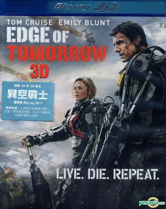 Yesasia Edge Of Tomorrow 2014 Blu Ray 2d 3d Hong Kong Version Blu Ray Emily Blunt Tom Cruise Warner Home Video Hk Western World Movies Videos Free Shipping