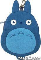 Studio Ghibli : Die-cut Denim Pouch My Neighbor Totoro (2) Medium Totoro