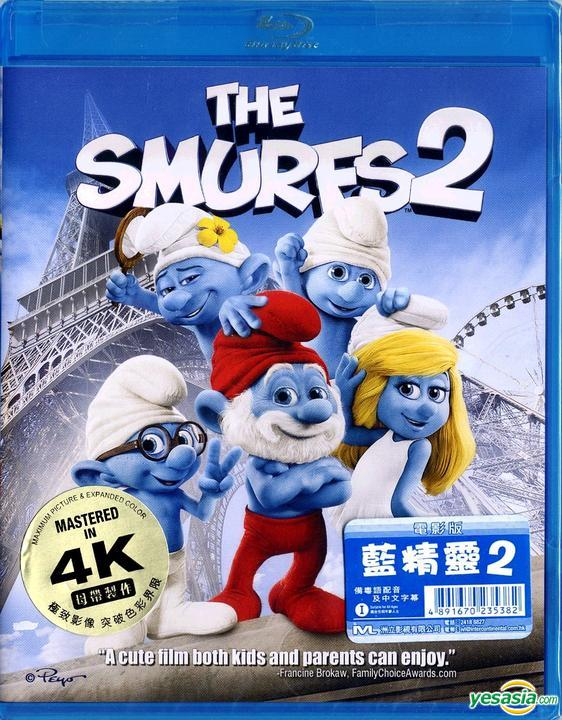 Yesasia The Smurfs 2 2013 Blu Ray 2d Mastered In 4k Hong Kong Version Blu Ray Raja Gosnell Intercontinental Video Hk Western World Movies Videos Free Shipping North America Site