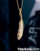 BTS : Jin Style - Winkey Necklace (Gold)