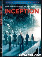 Inception (2010) (DVD) (2-Disc Special Edition) (Hong Kong Version)