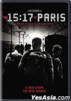 The 15:17 to Paris (2018) (DVD) (US Version)