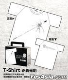 Black & White Episode I: The Dawn of Assault - White T-Shirt Male (L)