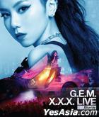 G.E.M. X.X.X. LIVE (Blu-ray) (Taiwan Version)