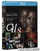 Jordan Peele Horror Double Pack: Us & Get Out (Blu-ray) (2-Disc) (Limited Edition) (Korea Version)