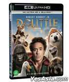 Dolittle (4K Ultra HD + Blu-ray) (Korea Version)
