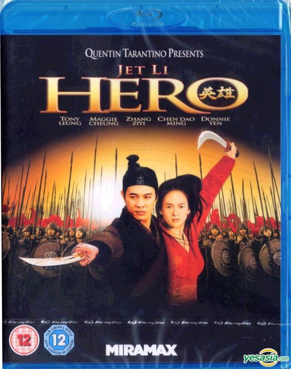 Yesasia Hero 2002 Blu Ray Uk Version Blu Ray Tony Leung Chiu Wai Maggie Cheung Man Yuk Miramax Home Entertainment Hong Kong Movies Videos Free Shipping