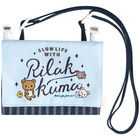 San-X Rilakkuma Shoulder Bag (Blue)