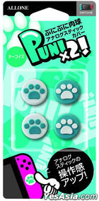 Nintendo Switch /Switch Lite Joy-Con Analog Stick Cover Nikukyuu Ver Turquoise (Japan Version)