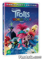 Trolls World Tour (DVD + First Press Activity Book) (Korea Version)