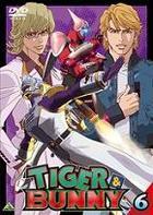 Tiger & Bunny (DVD) (Vol.6) (Japan Version)