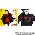 Mino First Solo Album - XX (Random Version) + Double Sided Poster in Tube