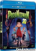 ParaNorman (2012) (Blu-ray) (2D + 3D) (Hong Kong Version)