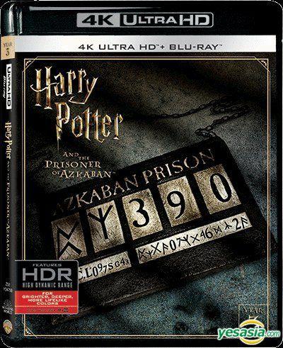 Yesasia Harry Potter And Prisoner Of Azkaban 2004 4k Ultra Hd Blu Ray Hong Kong Version Blu Ray J K Rowling Daniel Radcliffe Warner Home Video Hk Western World Movies