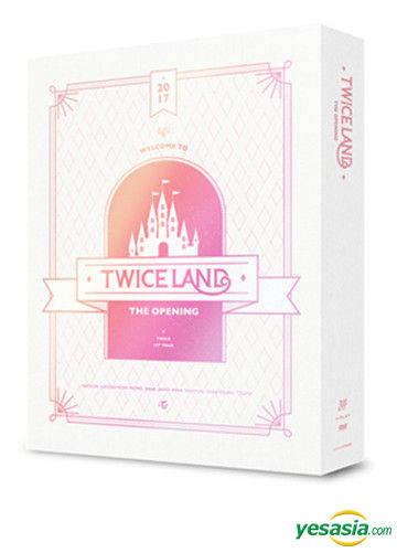 yesasia twice twiceland the opening concert dvd 3 disc korea version groups dvd female stars twice korea jyp entertainment korean concerts music videos free shipping north america site twiceland the opening concert dvd