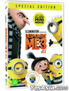 Despicable Me 3 (DVD) (Magnet Limited Edition) (Korea Version)