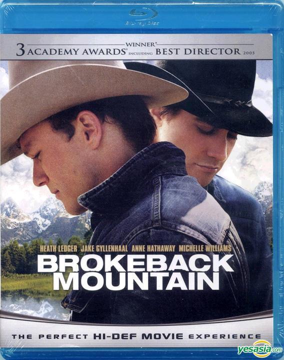 Yesasia Brokeback Mountain 2005 Blu Ray Us Version Blu Ray Ang Lee Anne Hathaway Focus Western World Movies Videos Free Shipping