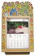 My Neighbor Totoro Stained Frame 2021 Calendar (Japan Version)