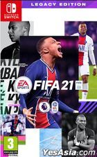 FIFA 21 LEGACY EDITION (Asian Chinese / English Version)