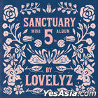 Lovelyz Mini Album Vol. 5 - Sanctuary (Normal Edition)