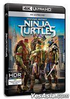 Teenage Mutant Ninja Turtles (2014) (4K Ultra HD Blu-ray) (Hong Kong Version)
